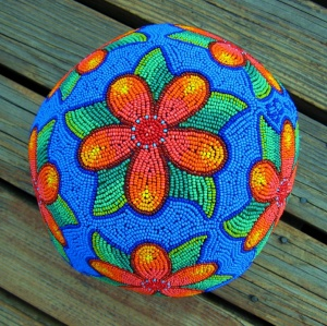 Floral Dodecahedron Ball