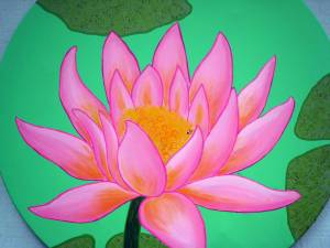 Painting in the Round Lotus (2)