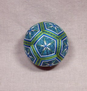 Variegated Thread Temari (5)